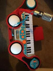 ELC keyboard boom drum kit