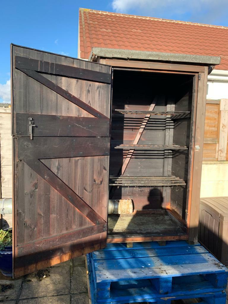 Wooden smoker and storage box with fruits wood | in Poole, Dorset | Gumtree