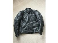 Ladies leather motorcycle jacket and trousers set by Rider
