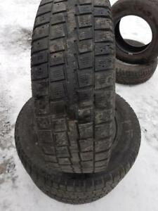 3 PNEUS HIVER COOPER 225 70 16   3 WINTER TIRES
