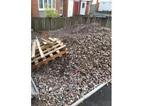 Free Pallets for wood burner wood stove