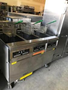 FRYMASTER TRIPLE ELECT DEEP FRYING STATION