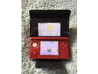 Immaculate Nintendo 3ds with 7 games, sturdy case, charger and spare stylus.