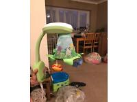 Fisher price rainforest projection mobile