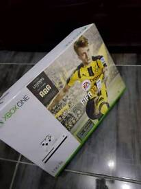 XBOX ONE WITH FIFA 17!!! BRAND NEW IN THE BOX