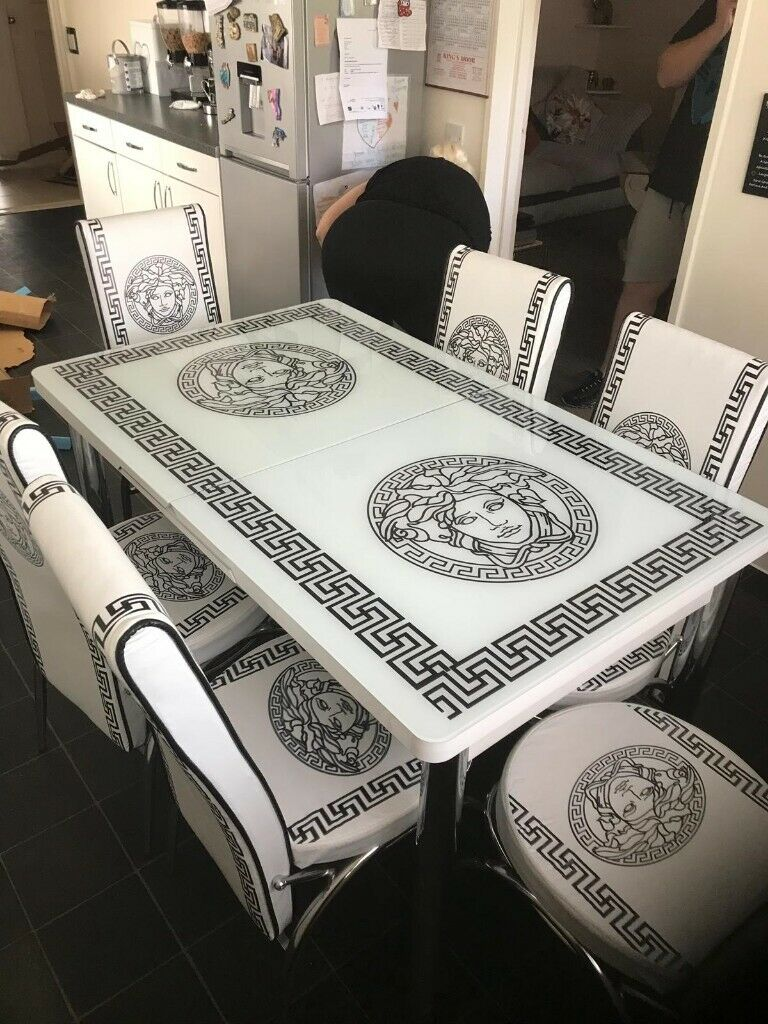 Versace Extendable Dining Table