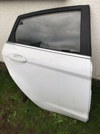2015 Ford Fiesta doors in white