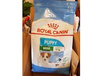 Royal Canin Mini Puppy dog feed (2 x 4kg)