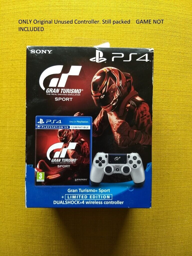 d234d1ac0fb DUALSHOCK 4 wireless controller (Gran Tourismo Sport edition) Game NOT  INCLUDED