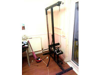 MUTLI GYM - LAT PULL & SEATED ROW WORKOUT MACHINE BENCH