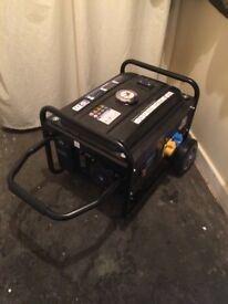 3.75KVA Heavy Duty Portable Petrol Generator With Wheel Kit