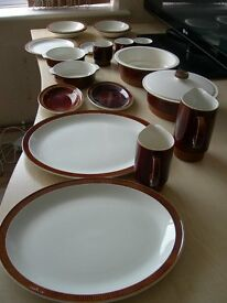 Poole Pottery - various items of crockery