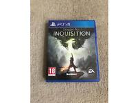 Dragon age inquisition ps4 game ( PlayStation 4 games )