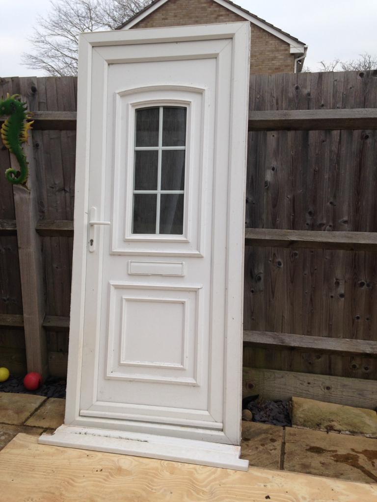 White Upvc Double Glazed Door In Gloucestershire Gumtree