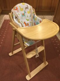 John Lewis High chair