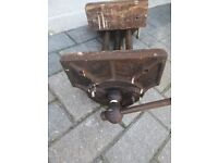 Vintage record woodworking vice