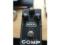 MXR Super Comp compressor guitar effects pedal