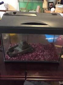 Got a glass fish tank