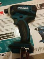"Makita 1/4"" cordless impact gun"