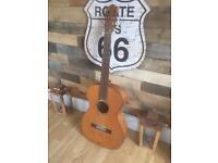 Rare vintage early 1960s Hofner flamenco acoustic .