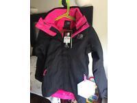 Brand new Karrimor 3-in-1 jacket, 7-8yrs
