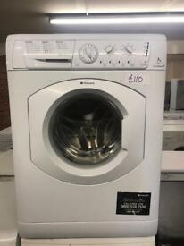LOVELY 7 KG HOTPOINT WASHER WITH GENUINE GUARANTEE 🇬🇧🇬🇧🌎🌎🇬🇧🇬🇧