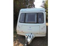 2007 Elddis Avante 482 - 2 Berth Touring Caravan With Large Rear Washroom