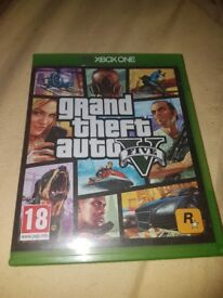 Xbox one gta 5 in great condition