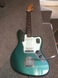Johnny Marr Jaguar Sherwood Green Limited Edition. Only 200 made.