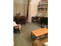 Delightfully spacious double room in split -level two bedroom flat share in lovely Turnham Green.