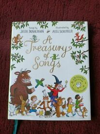 A Treasury of Songs: Book and CD Pack by Julia Donaldson