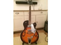 Gretsch electromatic archtop guitar 125 aniversary model .