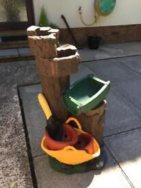 GARDEN FEATURE FOR SALE £25 WAS A WATRR FEATURE BUT NO PUMP MAKES A GREAT FEATURE ON ITS OWN