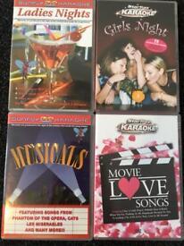 10 x Karaoke DVDs