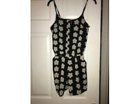 Womans playsuit Size 8