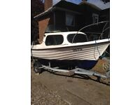 Mg boats 17ft Day Boat