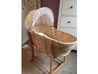 Moses basket (John Lewis)