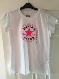 Converse girls T-shirt (13-15yrs)