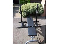 Bodymax weight bench and stands