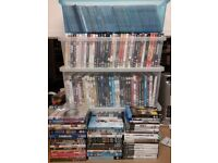154 DVDs AND GAMES - 57 FREE CDs