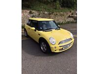 MINI COOPER 1.6 2006 3DR YELLOW FULL SERVICE HISTORY+LOW MILES