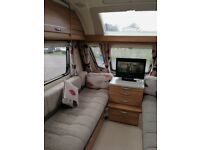 Swift challenger sport 586 end bedroom with bunks