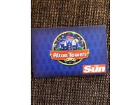 Alton Towers tickets for 2x 11th June 18 and 2x 15th June to swap for 30th June 18
