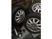 4 x Beautiful tyres nice condition. 175. 70. R14