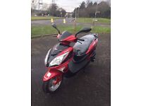 Lexmoto Fms125 automatic scooter 2016 in new condition!!!legal learner 125 cc moped