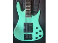 """RMI 5 STRING BASS GUITAR - SHORT SCALE (33"""") - GREAT CONDITION - GUILDFORD"""