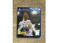FIFA18 PS4 Brand New Unopened