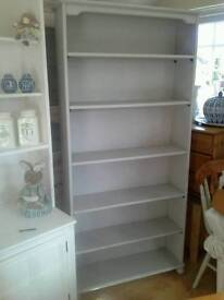 Bookcase, Shabby Chic, tall