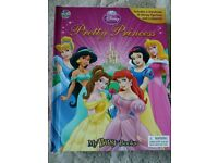 Pretty Princesses - book with playmat