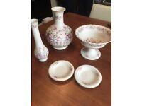 Porcelain vase set